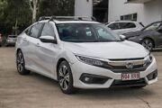 2017 Honda Civic 10th Gen MY17 VTI-LX White 1 Speed Constant Variable Sedan Noosaville Noosa Area Preview
