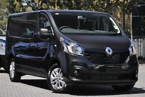 2016 Renault Trafic X82 103KW Low Roof LWB Jet Black 6 Speed Manual Van Artarmon Willoughby Area Preview