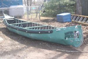 SPORTSPAL CANOE - 14 foot with 2 HP Honda Motor