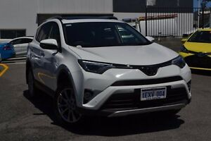 2015 Toyota RAV4 ASA44R Cruiser AWD Glacier White 6 Speed Sports Automatic Wagon Claremont Nedlands Area Preview