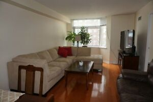 Spacious condo for rent! at Square One location.