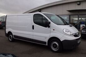 VAUXHALL VIVARO 2.0 2900 CDTI 1d 113 BHP - 360 SPIN ON WEBSITE (white) 2013