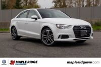 2018 Audi A3 Sedan Progressiv AWD, ONE OWNER, LOW KM, NO ACCIDEN Vancouver Greater Vancouver Area Preview