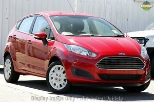 2017 Ford Fiesta WZ Ambiente PwrShift Red Candy 6 Speed Sports Automatic Dual Clutch Hatchback Yeerongpilly Brisbane South West Preview