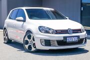 2011 Volkswagen Golf VI MY11 GTI DSG White 6 Speed Sports Automatic Dual Clutch Hatchback Osborne Park Stirling Area Preview