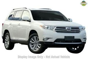 2013 Toyota Kluger GSU40R MY12 Altitude 2WD Silver 5 Speed Sports Automatic Wagon Taringa Brisbane South West Preview