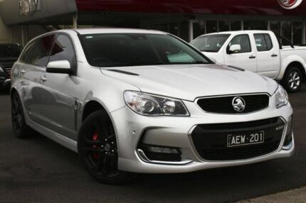 2015 Holden Commodore VF II MY16 SS V Sportwagon Redline Silver 6 Speed Sports Automatic Wagon