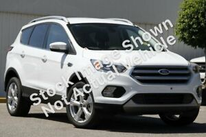 2017 Ford Escape ZG Trend 2WD White 6 Speed Sports Automatic Wagon Morley Bayswater Area Preview
