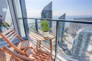 PARKLAWN & LAKESHORE.  1 BEDROOM  CONDO WITH LAKE VIEW..........