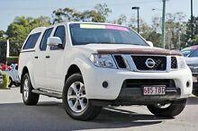 2012 Nissan Navara D40 S6 MY12 ST Arctic White 6 Speed Manual Utility Taringa Brisbane South West Preview
