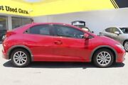 2013 Honda Civic 9th Gen MY13 VTi-S Red 5 Speed Sports Automatic Hatchback Woolloongabba Brisbane South West Preview