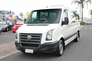 2011 Volkswagen Crafter 2ED1 MY12 35 MWB TDI330 Warm White 6 Speed Automatic Van Heatherton Kingston Area Preview
