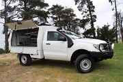 2012 Ford Ranger PX XL White 6 Speed Manual Cab Chassis Beaconsfield Cardinia Area Preview