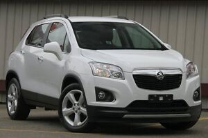 2016 Holden Trax TJ MY16 LTZ White 6 Speed Automatic Wagon Homebush Strathfield Area Preview