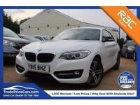 2015 15 BMW 2 SERIES 2.0 218D SPORT 2D AUTO 141 BHP DIESEL