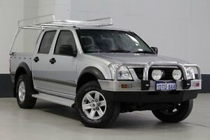 2005 Holden Rodeo RA LX (4x4) Silver 5 Speed Manual Crewcab Bentley Canning Area Preview