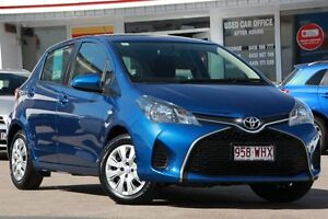 2014 Toyota Yaris NCP130R Ascent Tidal Blue 4 Speed Automatic Hatchback Woolloongabba Brisbane South West Preview