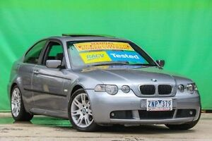 2003 BMW 318TI E46/5 MY04 Silver 5 Speed Manual Hatchback Ringwood East Maroondah Area Preview