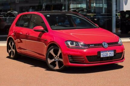 2014 Volkswagen Golf VII MY15 GTI DSG Red 6 Speed Sports Automatic Dual Clutch Hatchback