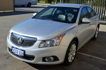 2013 Holden Cruze JH MY14 CDX Silver 6 Speed Automatic Sedan Hillman Rockingham Area Preview