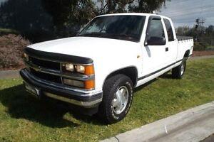 1996 Chevrolet Silverado 3500 White Automatic Melbourne CBD Melbourne City Preview