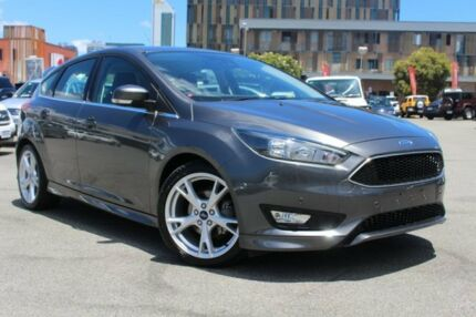 2016 Ford Focus LZ Titanium Grey 6 Speed Automatic Hatchback