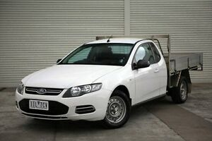 2013 Ford Falcon FG MkII Super Cab White 6 Speed Sports Automatic Cab Chassis Seaford Frankston Area Preview