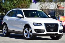 2009 Audi Q5 8R TDI S tronic quattro White 7 Speed Sports Automatic Dual Clutch Wagon Southport Gold Coast City Preview
