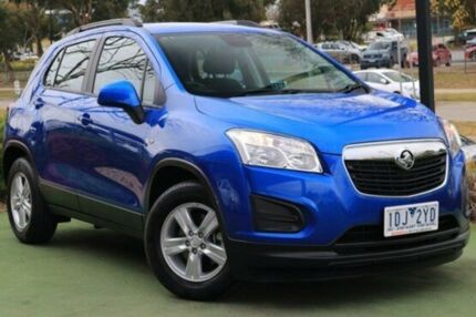 2014 Holden Trax TJ MY14 LS Blue 6 Speed Automatic Wagon
