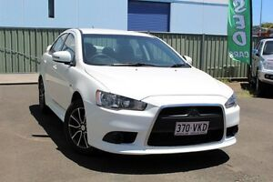 2015 Mitsubishi Lancer CJ MY15 ES Sport White 6 Speed Constant Variable Sedan Toowoomba Toowoomba City Preview