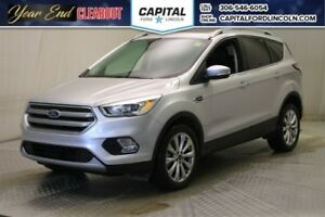2017 Ford Escape Titanium  4WD * Leather * Sunroof * Navigation