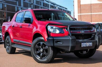 2015 Holden Colorado RG MY16 Z71 Crew Cab Red 6 Speed Sports Automatic Utility Fremantle Fremantle Area Preview