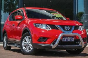2015 Nissan X-Trail T32 TS X-tronic 2WD Red 7 Speed Constant Variable Wagon Wilson Canning Area Preview