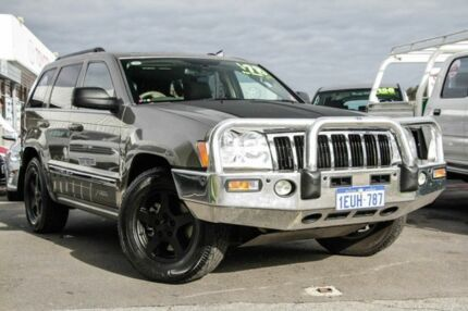2007 Jeep Grand Cherokee WH Limited (4x4) Khaki 5 Speed Automatic Wagon