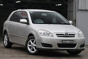 2006 Toyota Corolla ZZE122R MY06 Upgrade Conquest Seca Silver 4 Speed Automatic Hatchback Mosman Mosman Area Preview