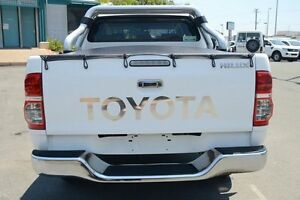 2012 Toyota Hilux KUN26R MY12 SR5 Double Cab Glacier White 5 Speed Manual Utility Acacia Ridge Brisbane South West Preview