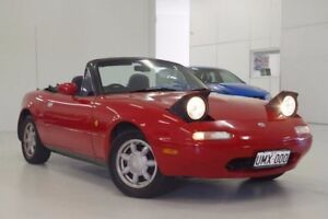 1993 Mazda MX-5 Red 5 Speed Manual Convertible Myaree Melville Area Preview
