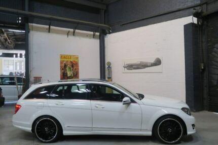 2013 Mercedes-Benz C250 W204 MY13 Avantgarde Estate 7G-Tronic + White 7 Speed Sports Automatic Wagon Port Melbourne Port Phillip Preview