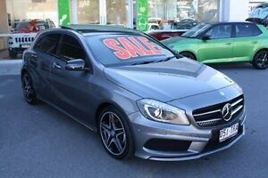2014 Mercedes-Benz A180 W176 D-CT Grey 7 Speed Sports Automatic Dual Clutch Hatchback Mount Gravatt Brisbane South East Preview