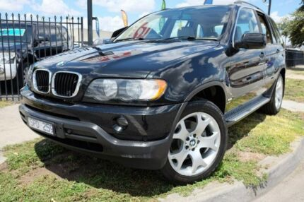 2001 BMW X5 E53 Steptronic Black 5 Speed Sports Automatic Wagon Dandenong Greater Dandenong Preview