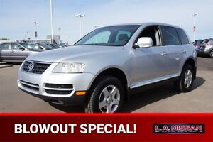 2007 Volkswagen Touareg ALL WHEEL DRIVE Leather,  Heated Seats,