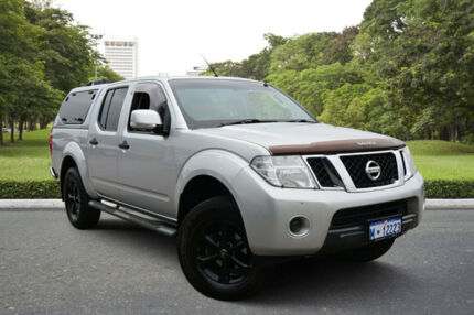2012 Nissan Navara D40 ST (4x4) Silver 6 Speed Manual Dual Cab Pick-up Kewdale Belmont Area Preview