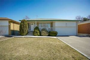 Prime Mississauga Area - 3+1 Bed Bungalow - Move In Condition!!
