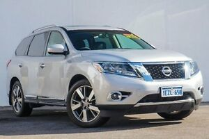 2015 Nissan Pathfinder R52 MY15 Ti X-tronic 4WD Silver 1 Speed Constant Variable Wagon Bellevue Swan Area Preview