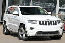 2015 Jeep Grand Cherokee WK MY15 Overland (4x4) Bright White 8 Speed Automatic Wagon North Curl Curl Manly Area Preview