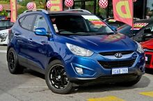 2011 Hyundai ix35 LM MY11 Highlander AWD Blue 6 Speed Sports Automatic Wagon Willagee Melville Area Preview