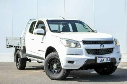 2013 Holden Colorado RG MY13 LX Space Cab White 6 Speed Sports Automatic Cab Chassis Maddington Gosnells Area Preview
