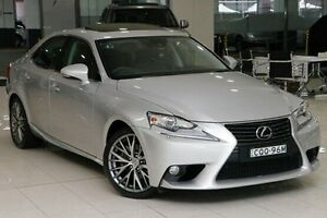2013 Lexus IS250 GSE30R Sports Luxury Premium Silver 6 Speed Sports Automatic Sedan Waterloo Inner Sydney Preview