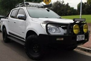 2012 Holden Colorado RG MY13 LTZ Crew Cab White 5 Speed Manual Utility Thebarton West Torrens Area Preview