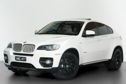2008 BMW X6 E71 xDrive35d Coupe Steptronic White 6 Speed Sports Automatic Wagon Port Melbourne Port Phillip Preview